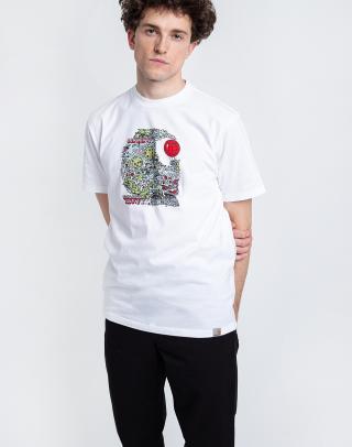 Carhartt WIP S/S Treasure C T-Shirt White L pánské Biela L