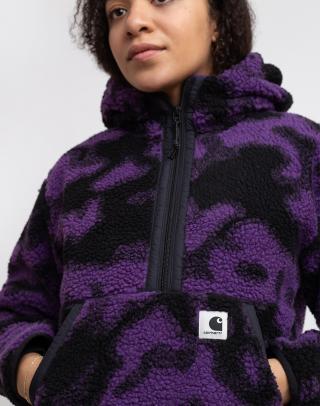 Carhartt WIP W Hooded Loon Liner Camo Blur/Purple L dámské Fialová L