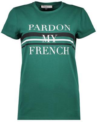 Cars Jeans Dámske tričko Fanette Green 4036155 L