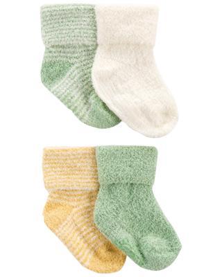 CARTERS Ponožky Stripes Yellow neutrál LBB 4ks 0-3m