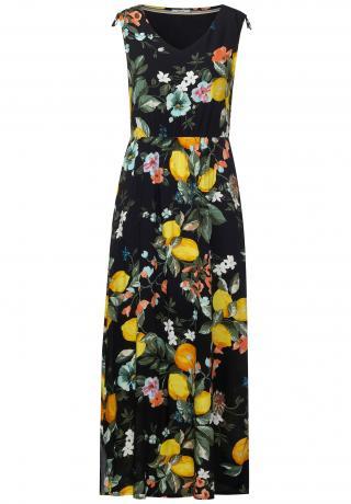 CECIL Letné šaty  tmavomodrá / zmiešané farby dámské 40