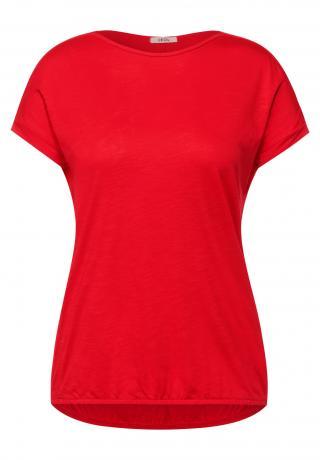 CECIL Tričko  červená dámské L