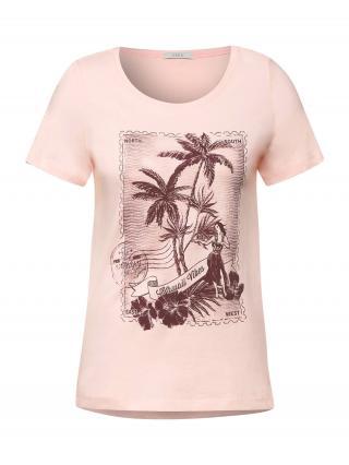 CECIL Tričko  ružová / purpurová dámské L