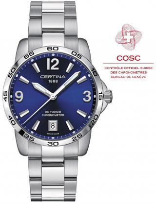 Certina DS PODIUM Chronometer C034.451.11.047.00 pánské