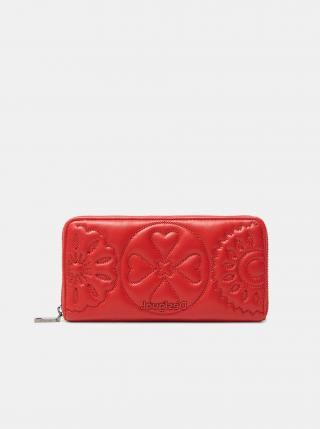 Červená dámska prešívaná peňaženka Desigual Big Big Fiona dámské