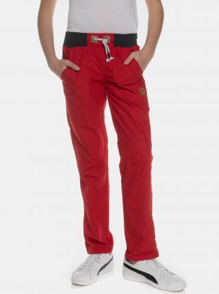Červené dievčenské nohavice SAM 73 červená 152