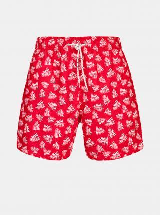 Červené pánske vzorované plavky killtec Paloro pánské červená L