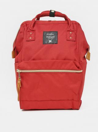 Červený batoh Anello 10 l dámské červená