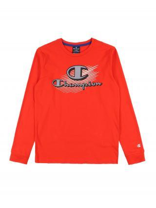 Champion Authentic Athletic Apparel Tričko  červená pánské 128