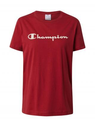 Champion Authentic Athletic Apparel Tričko  vínovo červená dámské S