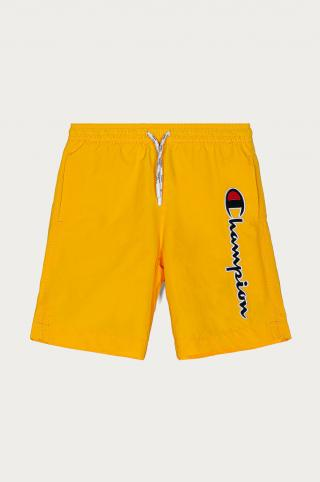 Champion - Detské plavkové šortky 102-179 cm žltá 114-119