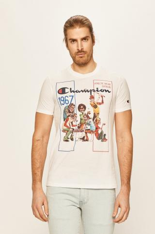 Champion - Tričko pánské biela S