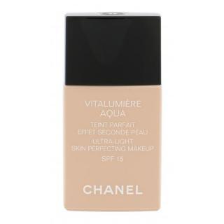 Chanel Vitalumière Aqua SPF15 30 ml make-up pre ženy 22 Beige Rosé s ochranným faktorom SPF dámské 30 ml