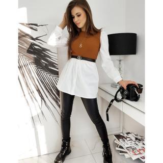 CHARLIE dress, camel EY1436 dámské Neurčeno One size