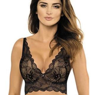 Charlize / PG1 push-up half-corset - black dámské Other 75B
