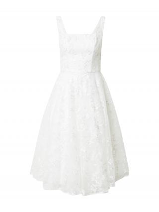 Chi Chi London Kokteilové šaty  biela dámské 40