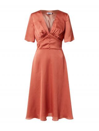 Chi Chi London Kokteilové šaty Jaslene  hrdzavo červená dámské 40