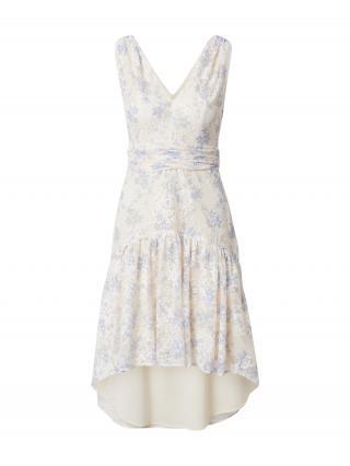 Chi Chi London Kokteilové šaty KANNA  krémová / dymovo modrá dámské 34
