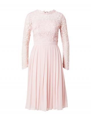 Chi Chi London Kokteilové šaty  pastelovo ružová dámské 42