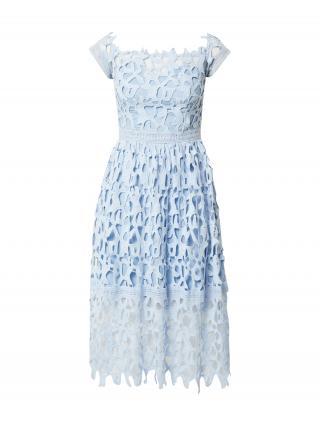 Chi Chi London Kokteilové šaty  svetlomodrá dámské 34