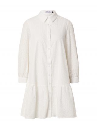 Chi Chi London Košeľové šaty  prírodná biela dámské 36