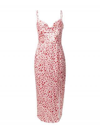 Chi Chi London Letné šaty  pitaya / biela dámské 36