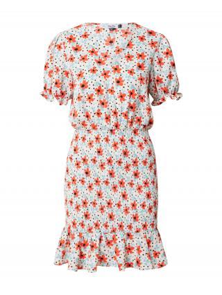 Chi Chi London Šaty Keely  krémová / modrá / červená / čierna dámské 36