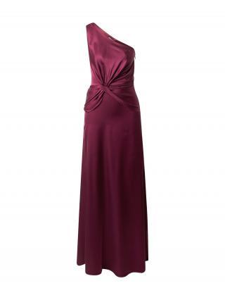 Chi Chi London Večerné šaty Eryka  farba lesného ovocia dámské 36