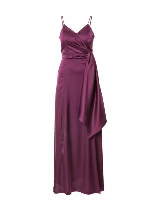 Chi Chi London Večerné šaty Jenina  farba lesného ovocia dámské 36