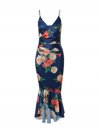 Chi Chi London Večerné šaty  námornícka modrá / púdrová / melónová / červená / nefritová dámské 42