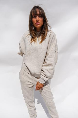 Chiara Wear Unisexs Sweatshirt Hemp  Model 2 dámské Other L