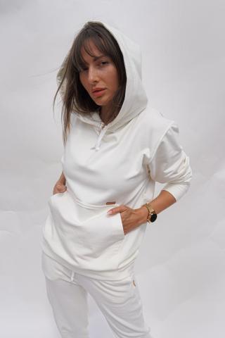 Chiara Wear Womans Hoodie Bamboo dámské Other L