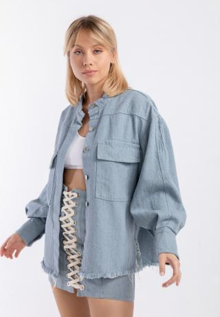 Chiara Wear Womans Jacket Denim dámské Other One size