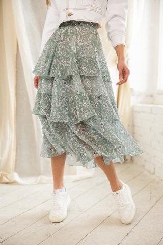 Chiara Wear Womans Skirt Misha Mint dámské Other L