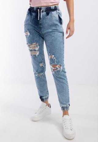 Chiara Wear Womans Trousers Baggy dámské Other M