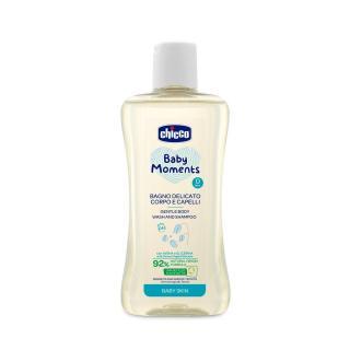 CHICCO Šampón jemný na vlasy a telo 200 ml