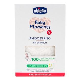 CHICCO Škrob detský ryžový do kúpeľa Sensitive 250 g