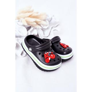 Childrens Foam Slippers Crocs Black Lazy Day dámské Other 26