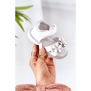 Childrens Orthopedic Velcro Sandals White Maysa dámské Other 28