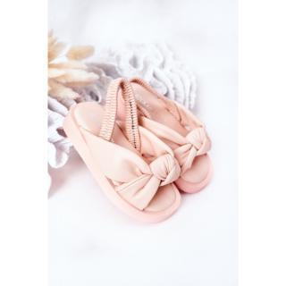 Childrens Sandals With Drawstring Pink Bubble Gum dámské Other 30