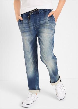 Chlapčenské džínsy pánské modrá 128,134,140,146,152,158,164,170,176