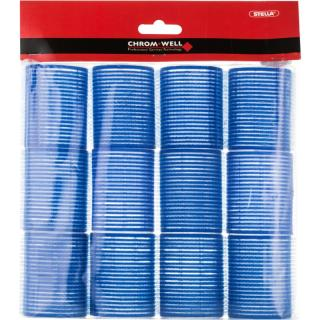 Chromwell Accessories Blue samodržiace natáčky na vlasy  12 ks dámské 12 ks