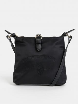 Čierna crossbody kabelka U.S. Polo Assn. Patterson dámské