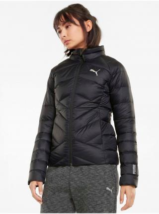 Čierna dámska prešívaná bunda Puma PWRWarm packLITE 600 Down Jacket dámské L