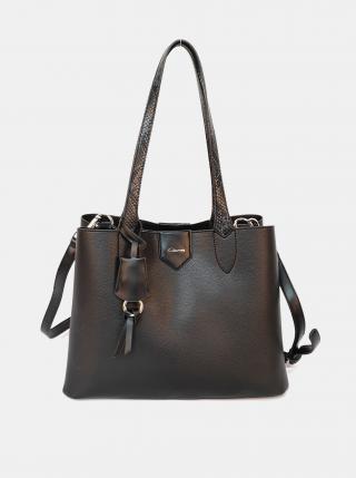 Čierna kabelka Gionni dámské