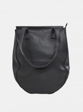 Čierna kožená kabelka .OBJECT dámské