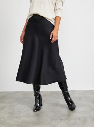 Čierna maxi sukňa METROOPOLIS Olympie dámské M