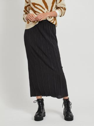 Čierna maxi sukňa .OBJECT Tilia - XS dámské XS