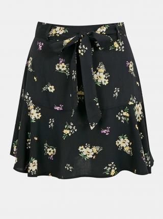 Čierna vzorovaná sukňa TALLY WEiJL dámské XS