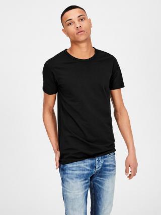 Čierne basic tričko Jack & Jones Basic pánské čierna XS